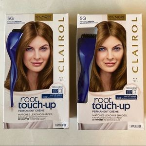 (2) Clairol Root Touch-Up 5G Medium Golden Brown